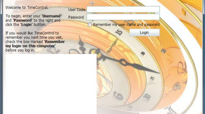 Customizing the TimeControl 6 login screen