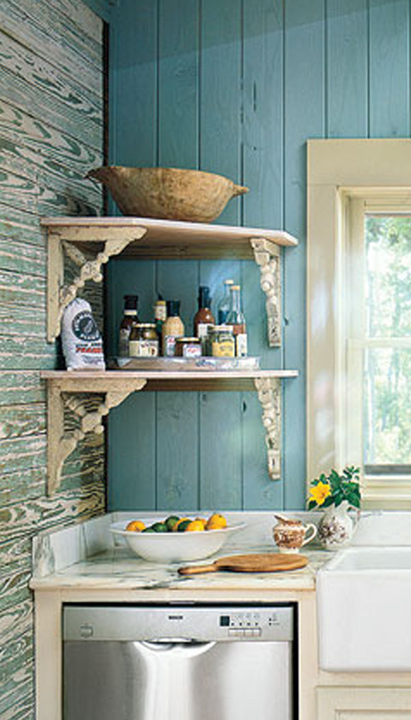 Country Kitchen Shelf Ideas