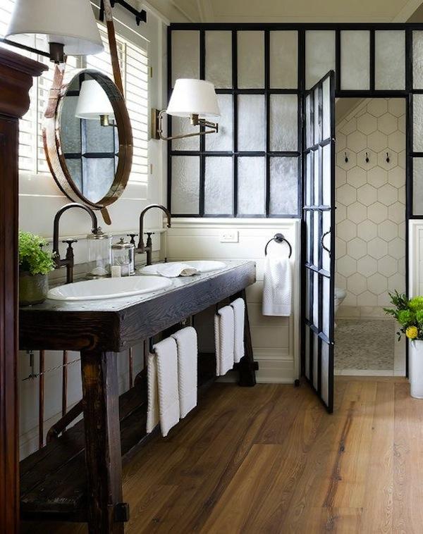 double bathroom sink vanities