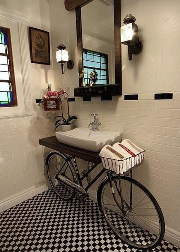 8 Vanity Looks for the Powder Room Artisan Crafted Iron