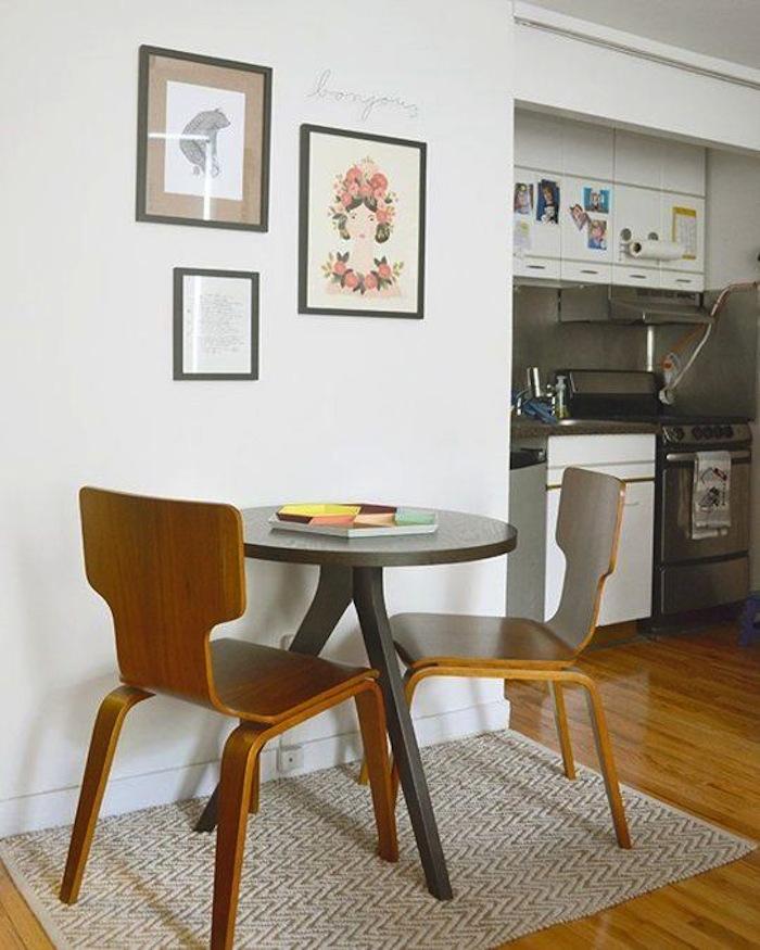 Long Narrow Living Dining Room