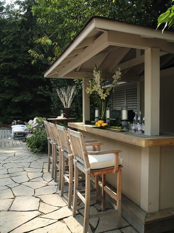 Large & Small: Cool Outdoor Bars You'll Love | Artisan ... on Outdoor Bar Patio Ideas  id=94839
