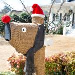 Festive Holiday Mailbox Decoration Ideas Artisan Crafted Iron Furnishings And Decor Blog