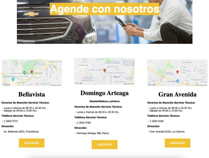 car service online appointment TIMIFY