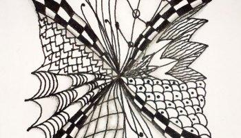 Was Ist Zentangle Zendoodle