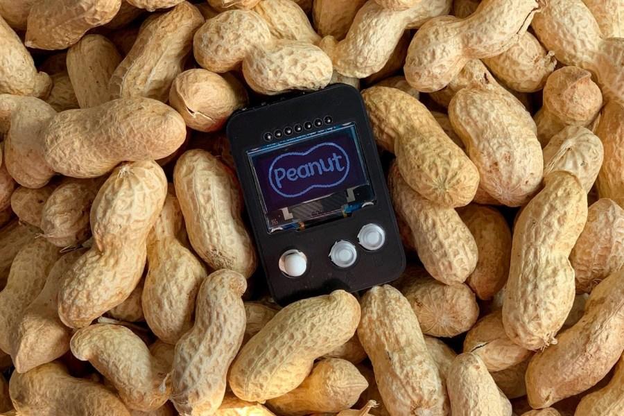 Peanut is an Arduboy Handheld Anybody Can Build