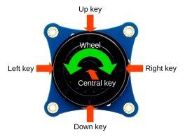 i2c key