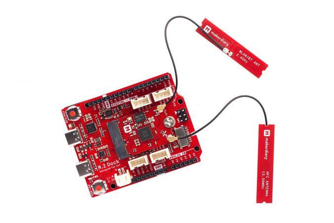 Tindie Blog |  Este kit de desenvolvimento nRF52840 do formato M.2 é impressionante! 3
