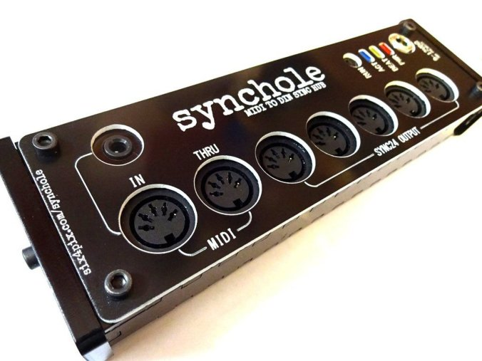 Blog do Tindie |  MIDI para DIN no SyncHole! 6
