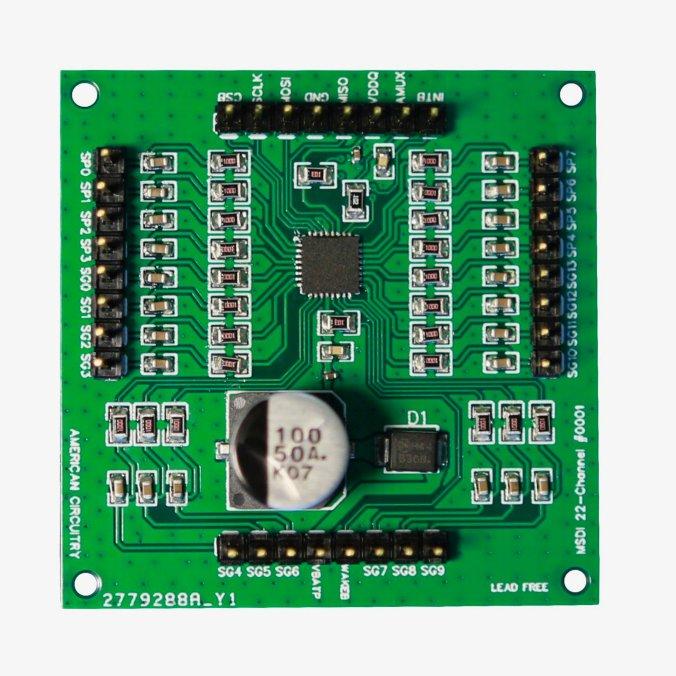Tindie Blog |  Placa de interface de detecção de interruptor múltiplo monitora até 22 contatos de interruptor 3