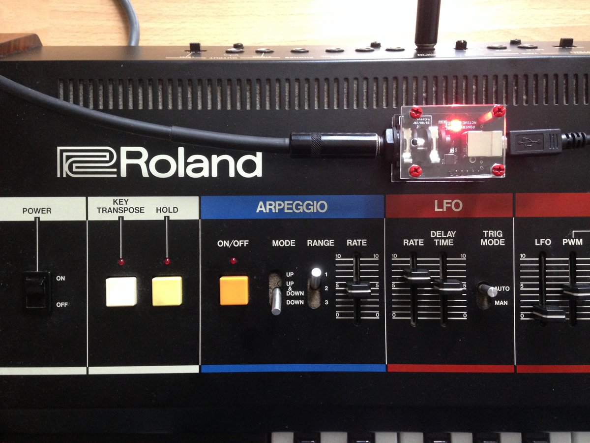 Sync Your Roland Synth Over USB!