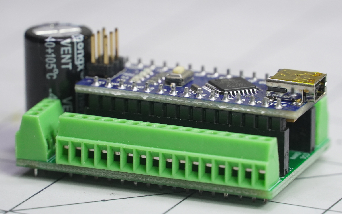 Arduino Nano + Extra Ground Pins = Grounduino