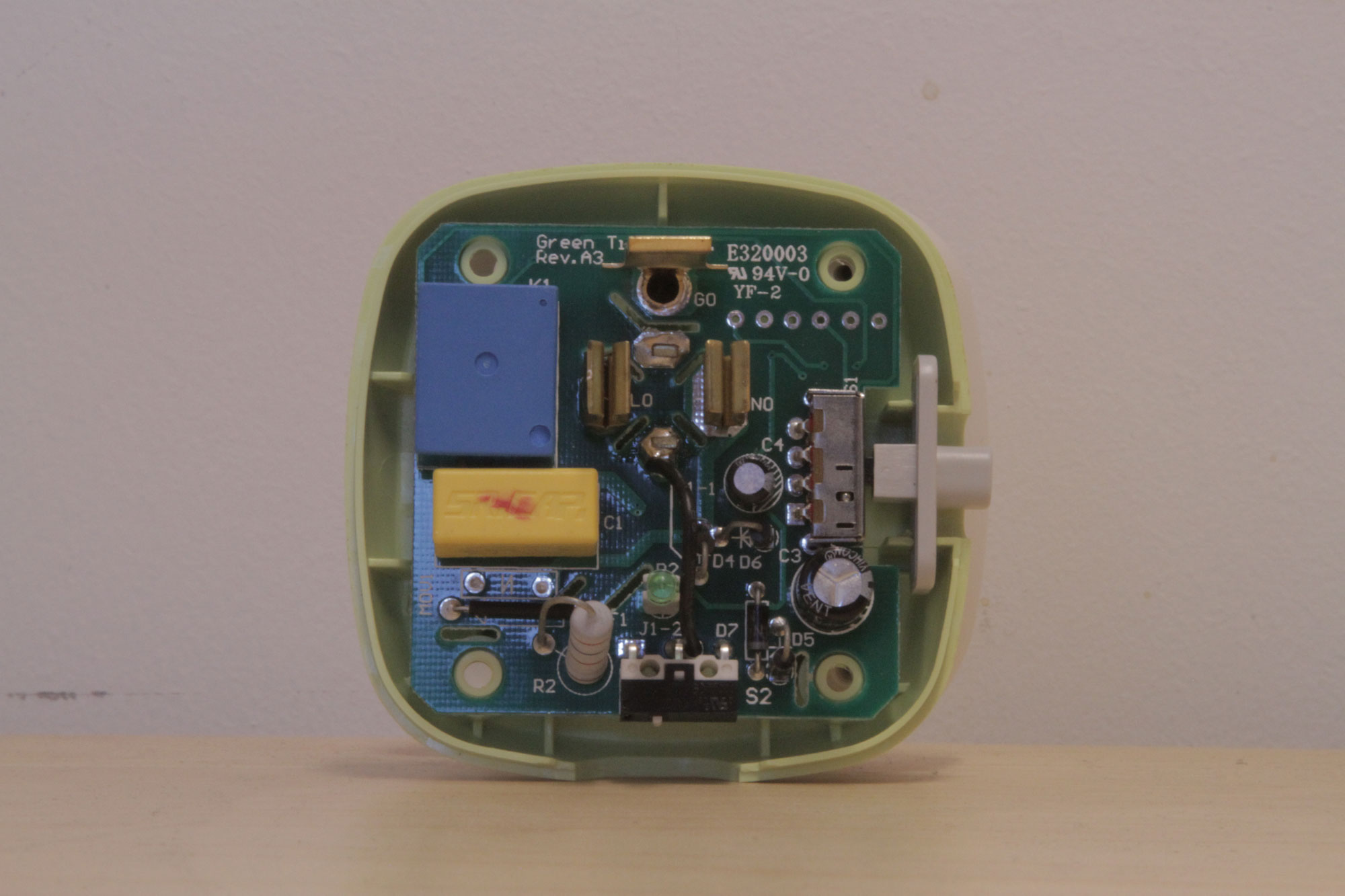 Help Me Hack The Belkin Conserve Tinyenormous Build It Up To Solid State Relay Reprap Here