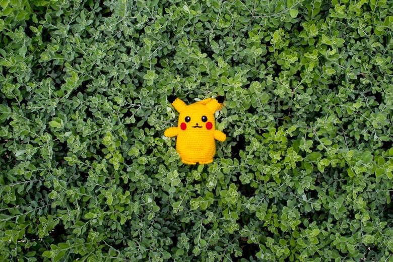 Tiny Rabbit Hole - Life Size Pikachu Pokemon Amigurumi Pattern