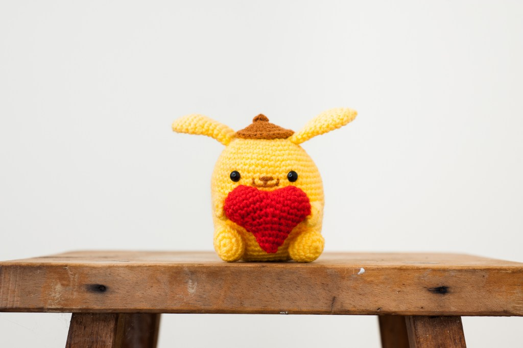 Tiny Rabbit Hole – Valentine's Day Amigurumi Crochet