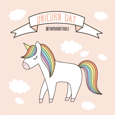 Tiny Rabbit Hole – Unicorn Day Rainbow Lazy Yuni Chan Free Event fun join us chinatown