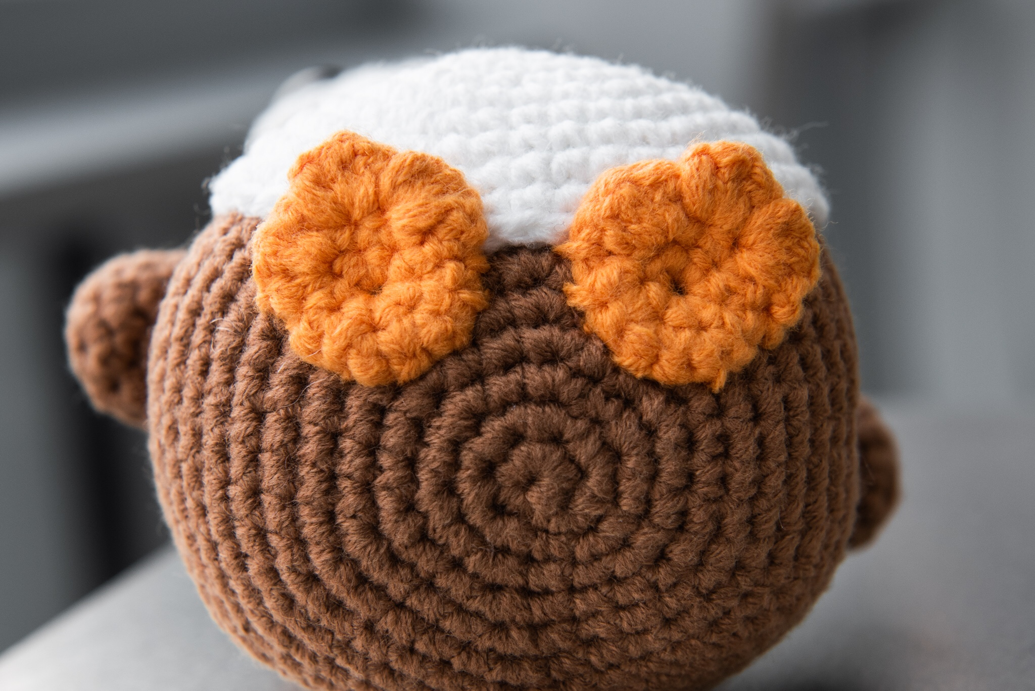 tiny rabbit hole porg star wars days may the fourth may the force be with you crochet amigurumi cute stuffed toys plushies handmade craft arts singapore workshop free pattern