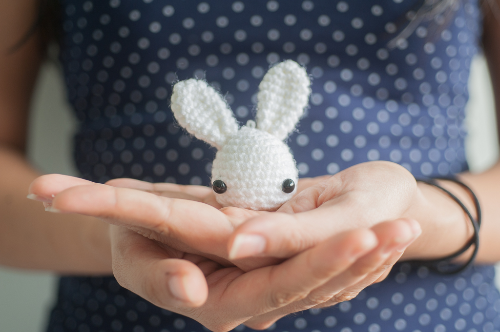 tiny rabbit hole - toki the bunny amigurumi crochet pattern