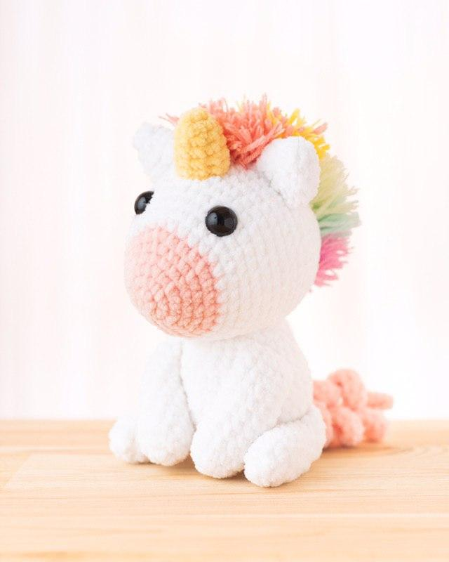 Crochet Magic – The Birth of a Unicorn