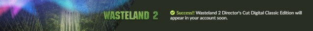 Sucesso Wasteland 2 Giveaway