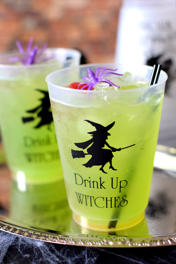 Halloween frosted plastic cup