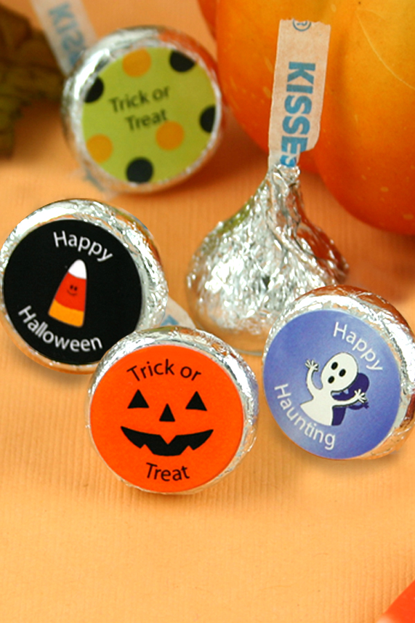 Personalized Halloween candy