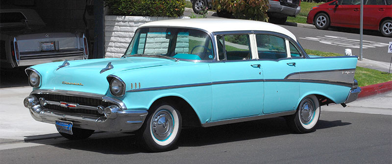 1957 Chevrolet Bel Air   TireBuyer com Blog 1957 Chevrolet Bel Air