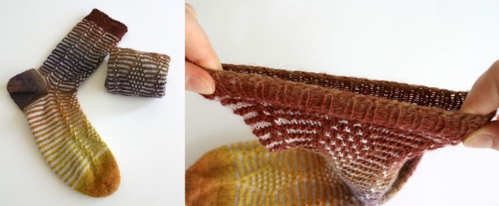 JSSBO, rabattage élastique idéal pour les chaussettes