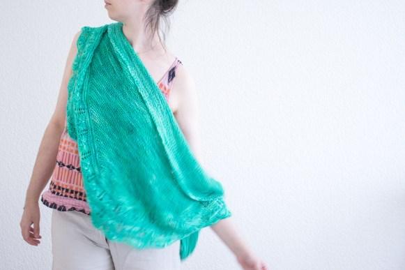 #onnestpasdesmannequins - Alpages Shawl by Tisserin Coquet