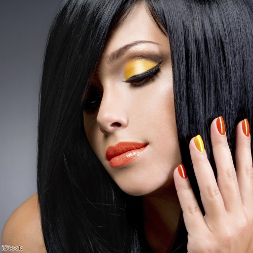 Go bright and bold with orange nails for summer
