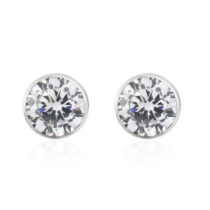 AAA Simulated Diamond Stud Earrings