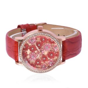TJC watch with enamelling in dial