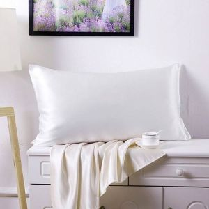 100% Mulberry Silk Hyaluronic Acid and Argan Oil Infused Pillowcase