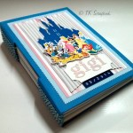 "Caderno longstitch ""Gigi na Disney"""