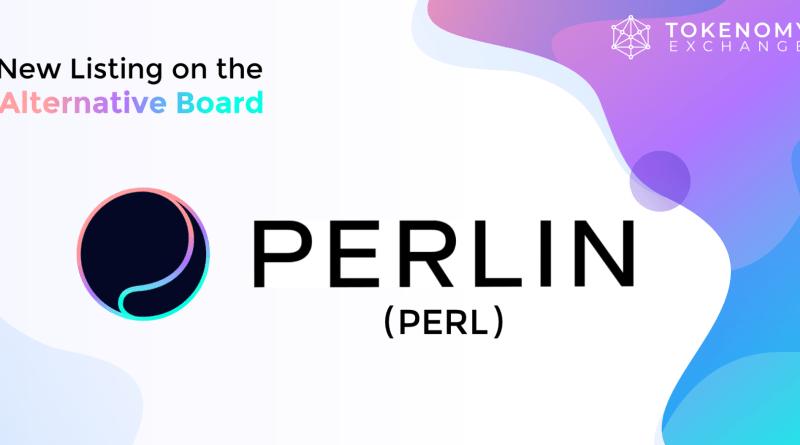 PERLIN (PERL) on the Tokenomy Exchange Alternative Board