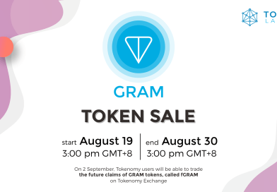 Telegram (GRAM) Token Sale on Tokenomy Launchpad!