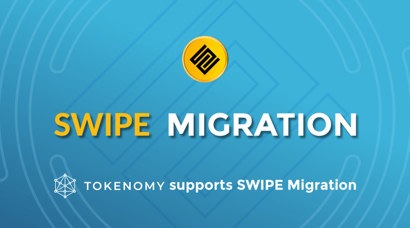 UPDATE: Tokenomy Will Support SWIPE Token Migration to Binance Chain
