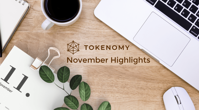 Tokenomy November Highlights