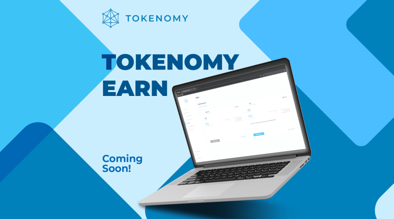 NEW WAY TO GROW YOUR MONEY WITH TOKENOMY!