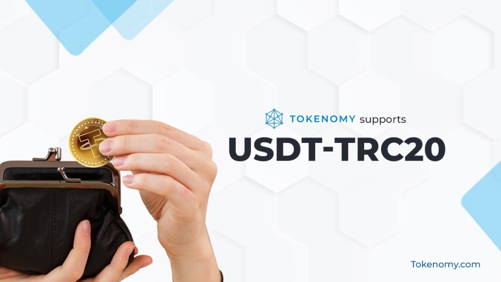 Tokenomy Supports USDT-TRC20
