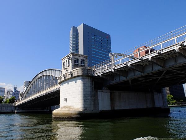 勝鬨橋。 photo:H.Miyazaki