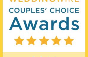 Wedding Wire Couple's Choice Award 2014