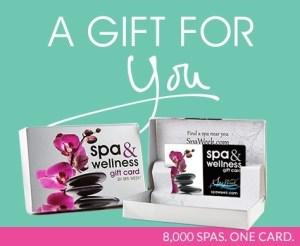 SpaWeek gift card