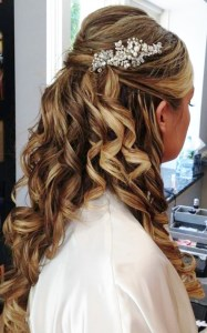 Wedding day Beauty  Bridal Hair ideas