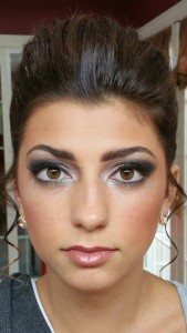 Smoky eye makeup by Makeup Artist Kim