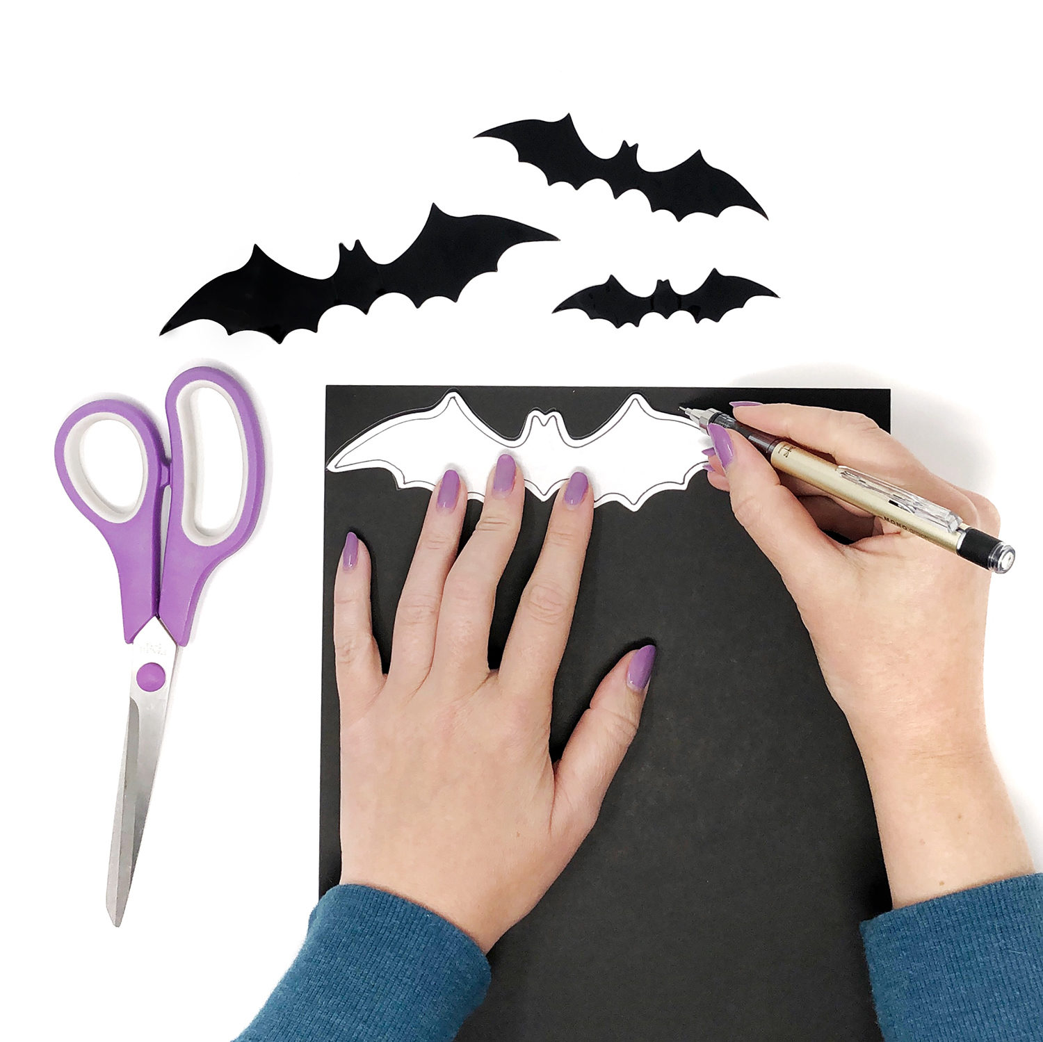 We found seven spaces beautifully decorated for halloween, and we're showing you how to steal their ideas. Diy Halloween Decorations Tombow Usa Blog