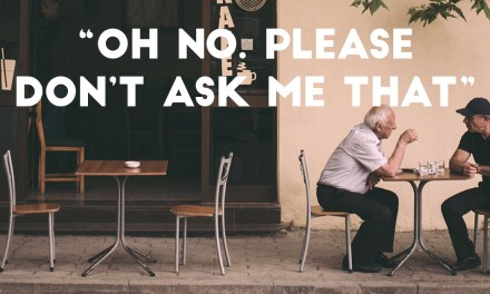 """Oh no. Please don't ask me that"" – Being prepared for tough questions"