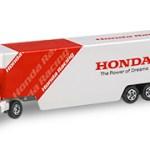 ミニカー発売情報 トイザらスオリジナル Honda レーシングトランスポーター