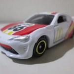 トミカチケットキャンペーン トヨタ86 マクドナルドレーシングカー