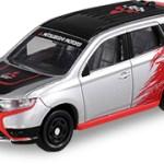 ミニカー発売情報 AEON チューニングカーシリーズ第34弾 三菱 アウトランダーPHEV ラリー仕様車